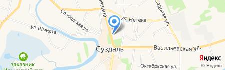 Районная централизованная библиотечная система на карте Суздаля