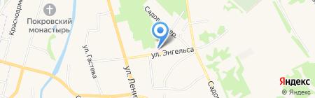 Поликлиника на карте Суздаля