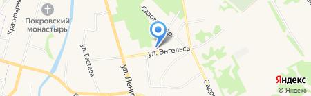 Суздальская фармация на карте Суздаля