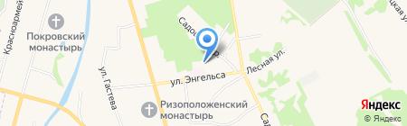 Суздальская городская дезинфекционная профилактика на карте Суздаля