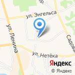 Единый расчетно-информационный центр Владимирской области на карте Суздаля