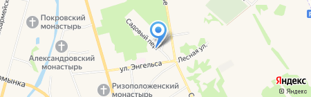 Детский сад №3 на карте Суздаля
