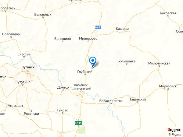 хутор Архиповка на карте