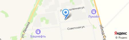 Суздальремстрой на карте Суздаля