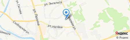 Средняя общеобразовательная школа №1 на карте Суздаля