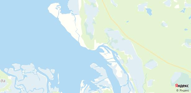 Лапоминка на карте