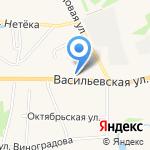 КБ Иваново на карте Суздаля
