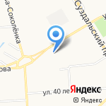 Бизнес-Про на карте Владимира