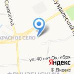 ВТС на карте Владимира