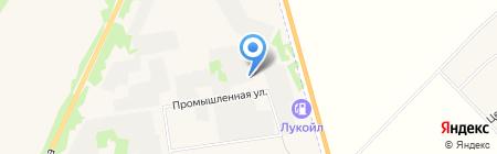 Суздальский на карте Суздаля