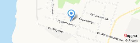 Основная общеобразовательная школа №57 на карте Архангельска
