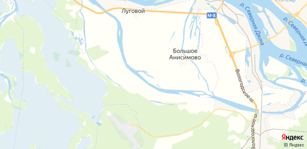 Перхачево на карте