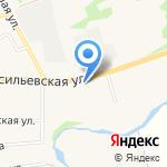 Ямской двор на карте Суздаля