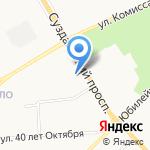 Монострой на карте Владимира
