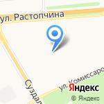 Детский сад №75 общеразвивающего вида с приоритетным осуществлением деятельности по физическому направлению развития детей на карте Владимира