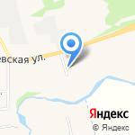 Васильевский дворик на карте Суздаля