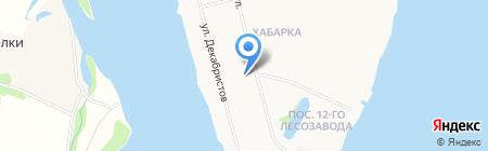 Основная общеобразовательная школа №48 на карте Архангельска