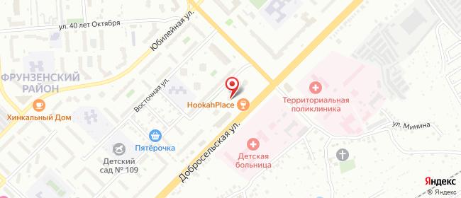 Карта расположения пункта доставки СИТИЛИНК в городе Владимир
