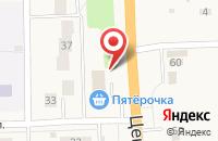 Схема проезда до компании Пятерочка в Павловском