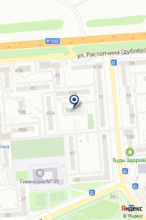 УЧАСОК № 4 МИРОВЫЕ СУДЬИ ФРУНЗЕНСКОГО РАЙОНА на карте Владимира