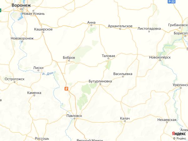 село Озерки на карте