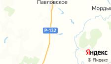 Гостиницы города Борисовское на карте