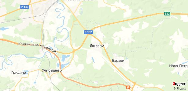 Вяткино на карте