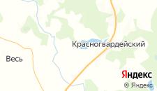 Базы отдыха города Холодово на карте