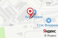 Схема проезда до компании Владпромвентиляция во Владимире