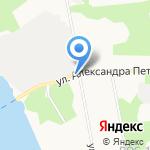 Дагаз на карте Архангельска