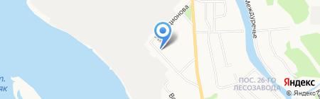 Маймакса на карте Архангельска