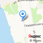 Койра на карте Архангельска