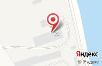 Схема проезда до компании ГАРАЖникоф в Большом Анисимово
