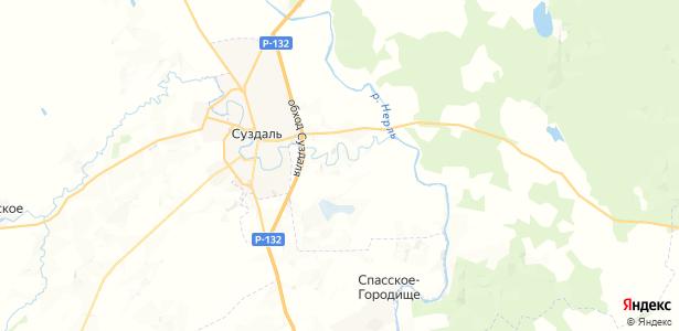 Глебовское на карте