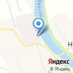 Пожарная часть №75 на карте Архангельска
