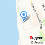 Центр по мониторингу загрязнения окружающей среды на карте Архангельска