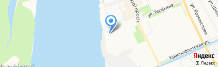 Симбио на карте Архангельска