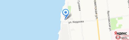 КСМ на карте Архангельска