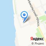 Аква Делан на карте Архангельска