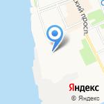 Монада на карте Архангельска