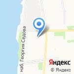 Инварс на карте Архангельска