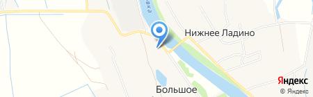 Администрация муниципального образования Заостровское на карте Большого Анисимово