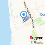 Управляющая Компания Соломбала-1 на карте Архангельска