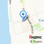 Соломбальская специальная коррекционная общеобразовательная школа-интернат на карте Архангельска
