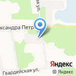 Монтажстрой на карте Архангельска