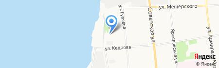 Цихея на карте Архангельска
