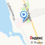 Маймаксанский психоневрологический интернат на карте Архангельска