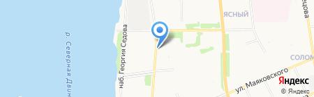 Магазин товаров для дома на карте Архангельска