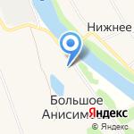 Заостровский на карте Архангельска