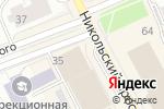 Схема проезда до компании АйТи Сервис в Архангельске